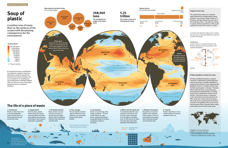 Soup of Plastic Infographic